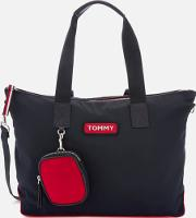 Varsity Nylon Tote Bag Corporate