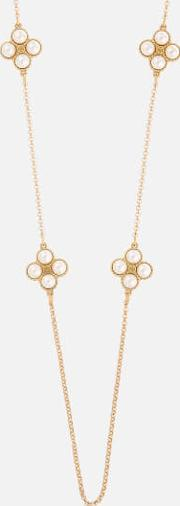 Rope Clover Rosary Necklace Creamtory