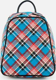 Shuka Tartan Mini Backpack