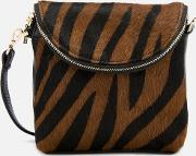 Victoria Mini Cross Body Bag Zebra Print