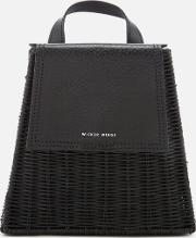 Tall Tixing Wicker Backpack