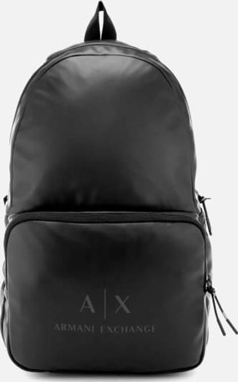 armani exchange Eco Nappa Backpack Gun Metal   Obsessory 0c50c0296c