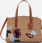 Coach X Keith Haring Charlie Carryall Bag Rust