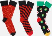 Holiday Singing 3 Pack SockBox  Eu 41 46
