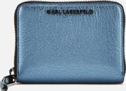 Kkool Small Zip Wallet Metallic Light