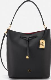 Dryden Debby Drawstring Bucket Bag Crimson