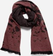 Swallow Degrade Scarf Charcoal