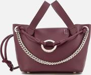 Linked Thela Mini Tote Bag Jupiter Burgundy