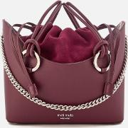 Ornella Drawstring Tote Bag Jupiter Burgundy