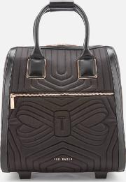 Anisee Quilted Bow Travel Bag