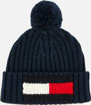 Big Flag Beanie Navy
