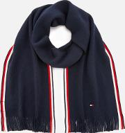 Corporate Edge Scarf Navy