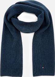 Pima Cotton Scarf Navy
