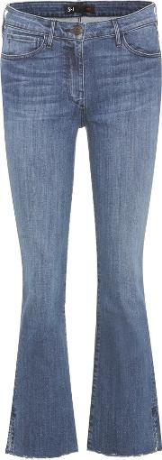 W25 Mid Rise Cropped Jeans