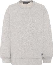 Oversized Cotton Blend Sweater