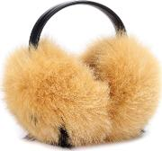 Smiley Fur Ear Muffs