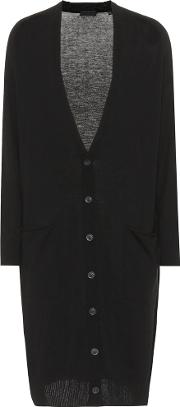 Silk, Wool And Cashmere Cardigan