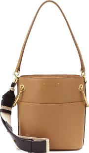 Small Roy Leather Bucket Bag