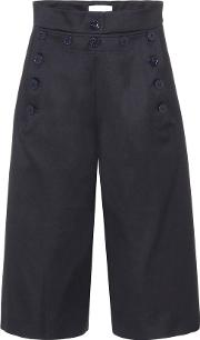 Wool And Cotton Culottes