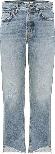 Helena Cropped Straight Leg Jeans