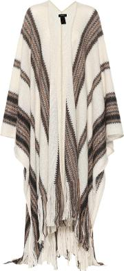 Kalibo Mohair And Wool Blend Cape
