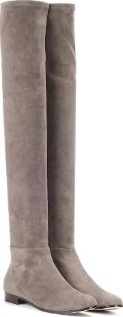 Myren Flat Suede Over The Knee Boots