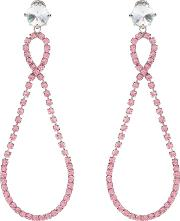 Crystal Embellished Clip On Earrings