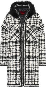 Ludmilla Shearling Trimmed Coat