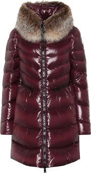 Hermifur Quilted Down Coat