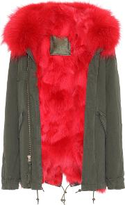Exclusive To Mytheresa.com London Fur Trimmed Parka