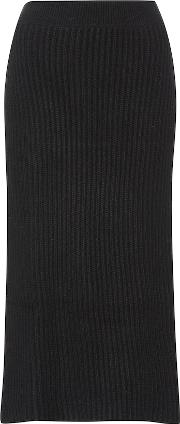 Knitted Cashmere Skirt