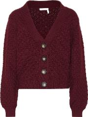Cotton Chunky Knit Cardigan