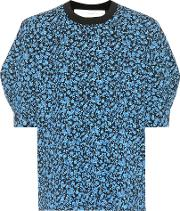 Floral Printed Cotton T Shirt
