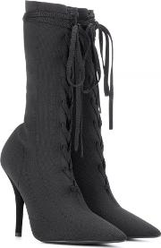 Lace Up Knit Ankle Boots Season 5