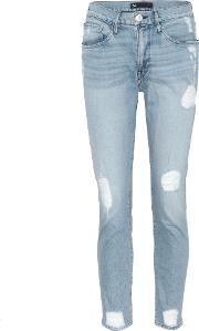 Slim Boy Toy High Rise Cropped Jeans