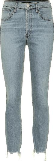 W3 Authentic Cropped High Rise Jeans