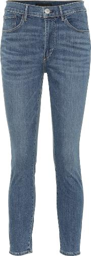 W3 Cropped High Rise Skinny Jeans