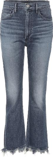W5 Empire High Rise Flared Jeans