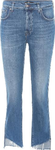 Edie High Rise Straight Jeans