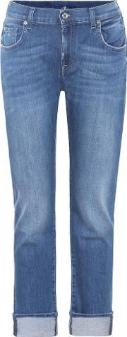 Relaxed Mid Rise Skinny Jeans