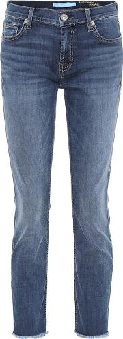 Roxanne Mid Rise Skinny Jeans