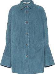Lucia Suede Blouse