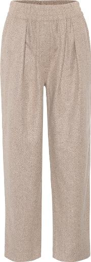 Tirza Wool Blend Trousers
