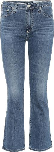 Jodi Crop Flared Jeans