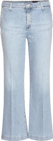 Layla Cropped Flared Jeans