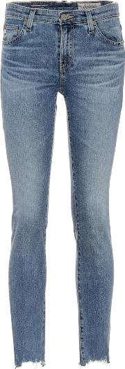 The Prima Ankle Mid Rise Skinny Jeans