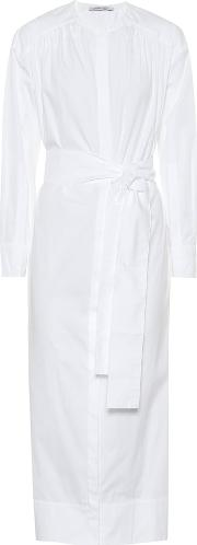 Cotton Poplin Maxi Shirt Dress