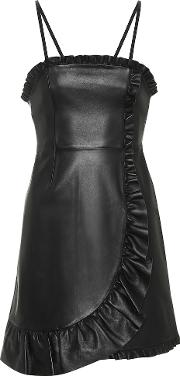 Leather Minidress