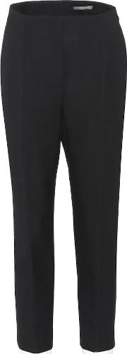 Wool And Silk Blend Trousers