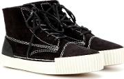 Perry Suede High Top Sneakers